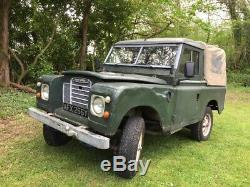 Land Rover Series III 88. Diesel with LR Overdrive. 1982
