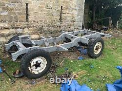 Land Rover Series II Rolling Chassis with Galv Bulkhead project