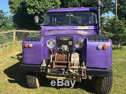 Land Rover Series IIa (2a) SWB Truck Cab with working Land Rover MKII PTO Winch