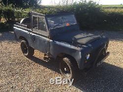 Land Rover Series V8 Auto 2A SWB 88 tax and MOT exempt pre 1960 classic rare