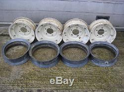 Land Rover Split Rim Wheels Series 1,2,3