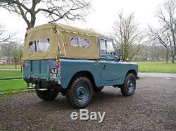 Land Rover series2a V8