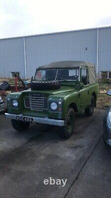 Land Rover series 1970