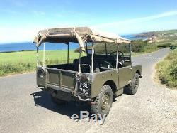 Land Rover series 1 80 1949