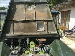 Land Rover series 1 80inch with Aluminium bulkhead