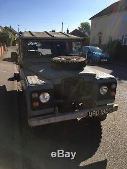 Land Rover series 2A 1968
