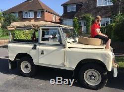 Land Rover series 2A / 3 1969