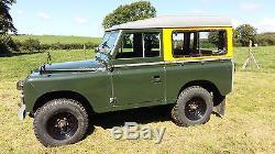 Land Rover series 2A swb V8