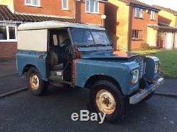 Land Rover series 2/3, 1974, 88 diesel