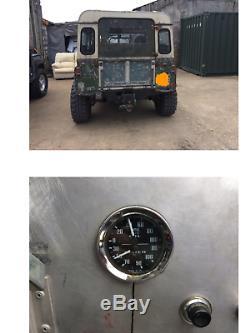 Land Rover series 2 v8 hybrid