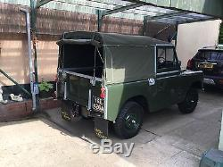 Land Rover series 2a 1963. Restored