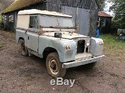 Land Rover series 2a 1964 88 very very original