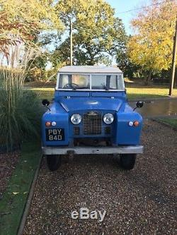 Land Rover series 2a 1966 swb tax and mot exempt