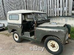 Land Rover series 2a barn find