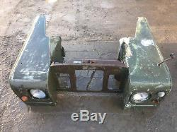 Land Rover series 2a front wings and slam panel