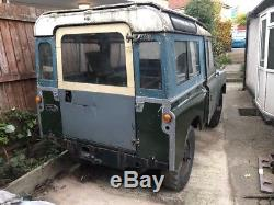 Land Rover series 2a project