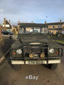 Land Rover series 3 109 Tax exempt