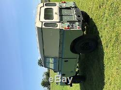 Land Rover series 3 diesel 88 Tax Exempt solid wax oiled chassis