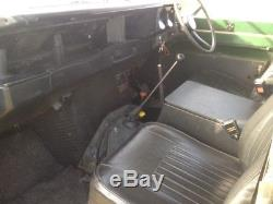 Land Rover series 3 safari 6 cylinder (1980)