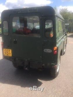 Land Rover series 3 short wheel base