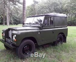 Land Rover series 3 tax and mot exempt exceptional condition