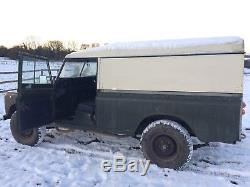 Land Rover series LWB 109 6 cylinder
