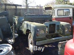 Land Rover series project