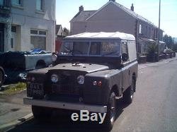 Land Rover series swb 2A 1964, mot and on the road, 2.5n/a diesel engine
