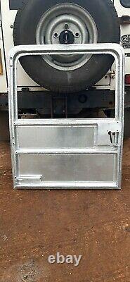Land rover Defender Series galvanised Rear Doors