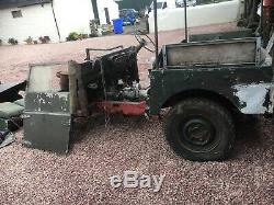 Land rover Series 1 1953 Delivery Anywhere Most NX Is Factory Vehicles