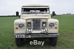 Land rover Series 3 1984