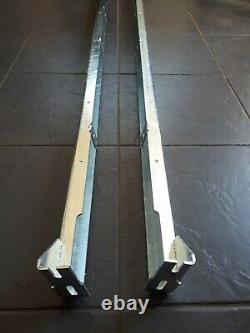 Land rover defender 110 series3 5 Door CSW sill rail support channels galv LH+RH