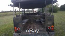 Land rover lightweight series 3 tax and mot exempt