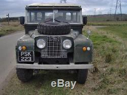 Land rover series1 station wagon 1956