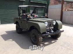 Land rover series1 trialler