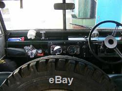 Land rover series 1 1955 86 wheelbase. Soft-top