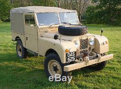 Land rover series 1 1958 88, Galvanised chassis, over drive, capstan winch