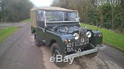 Land rover series 1, 80 model 1952, very usable classic, drive away