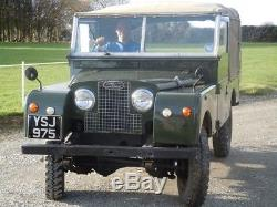 Land rover series 1 88 1957