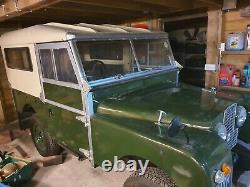 Land rover series 1 for restoration relisted