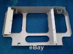 Land rover series 1 lights behind grill radiator panel