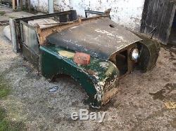 Land rover series 1 one 1957 88 project rare 2L diesel