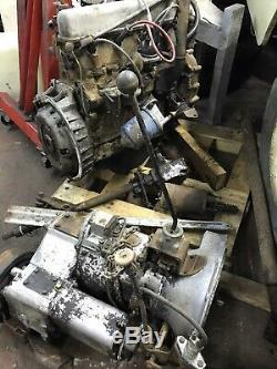 Land rover series 2.25 petrol engine And Gear Box