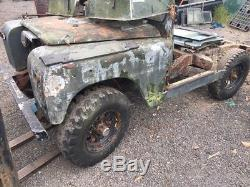 Land rover series 2 Rolling Chassis Project