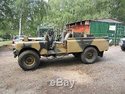 Land rover series 2 desert patrol