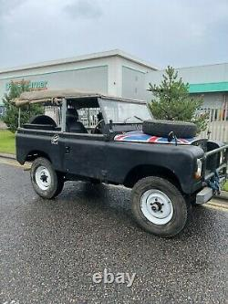 Land rover series 2a 2.5 na diesel