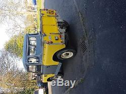 Land rover series 2a (GALVONISED CHASSIS)