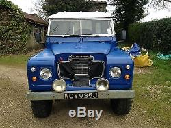 Land rover series 2a galvanised chassis