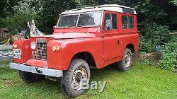Land rover series 2a tax exempt