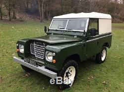 Land rover, series 3, 1972, tax exempt